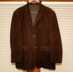 Vintage Calvin Klein Brown Corduroy Sport Coat